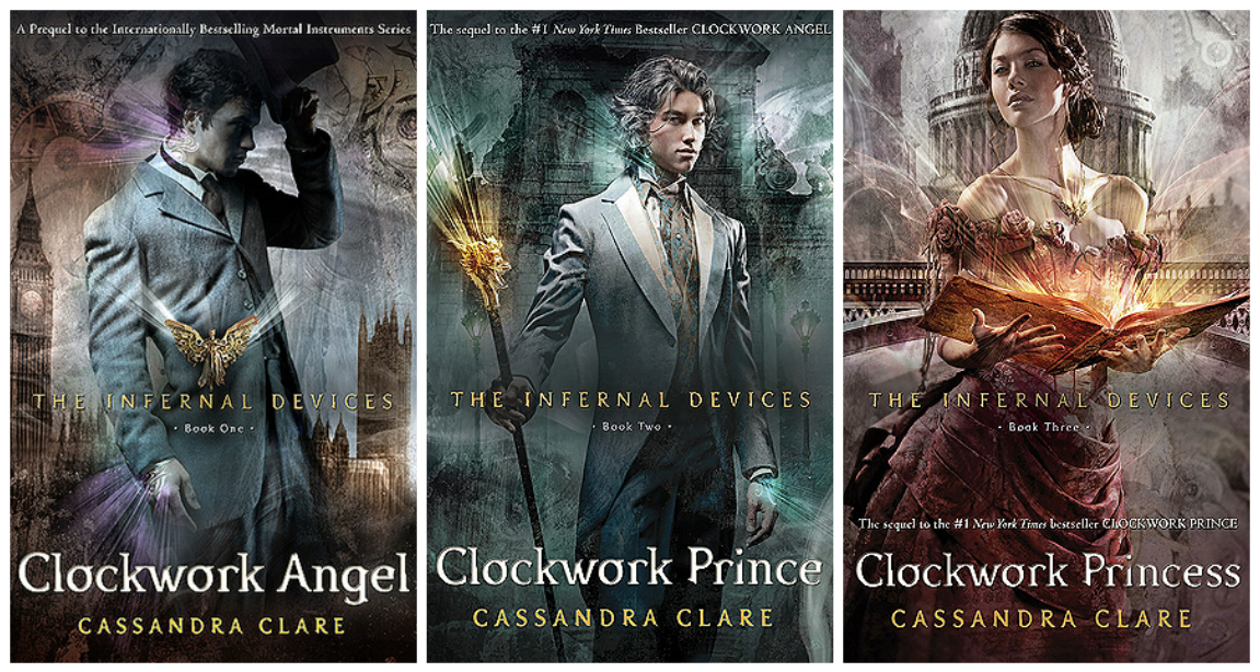 Book Review: The Infernal Devices by Cassandra Clare - stacked shelves